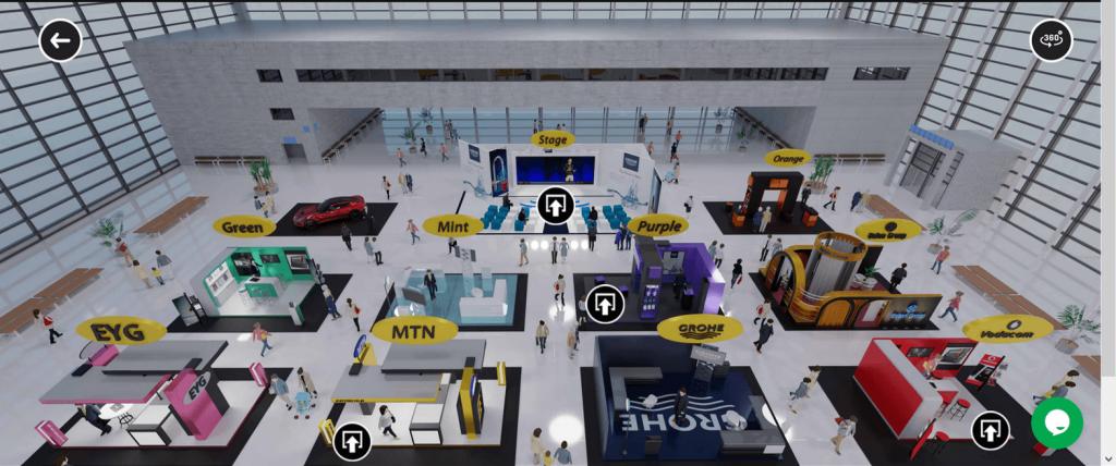 Virtual Exhibition Example